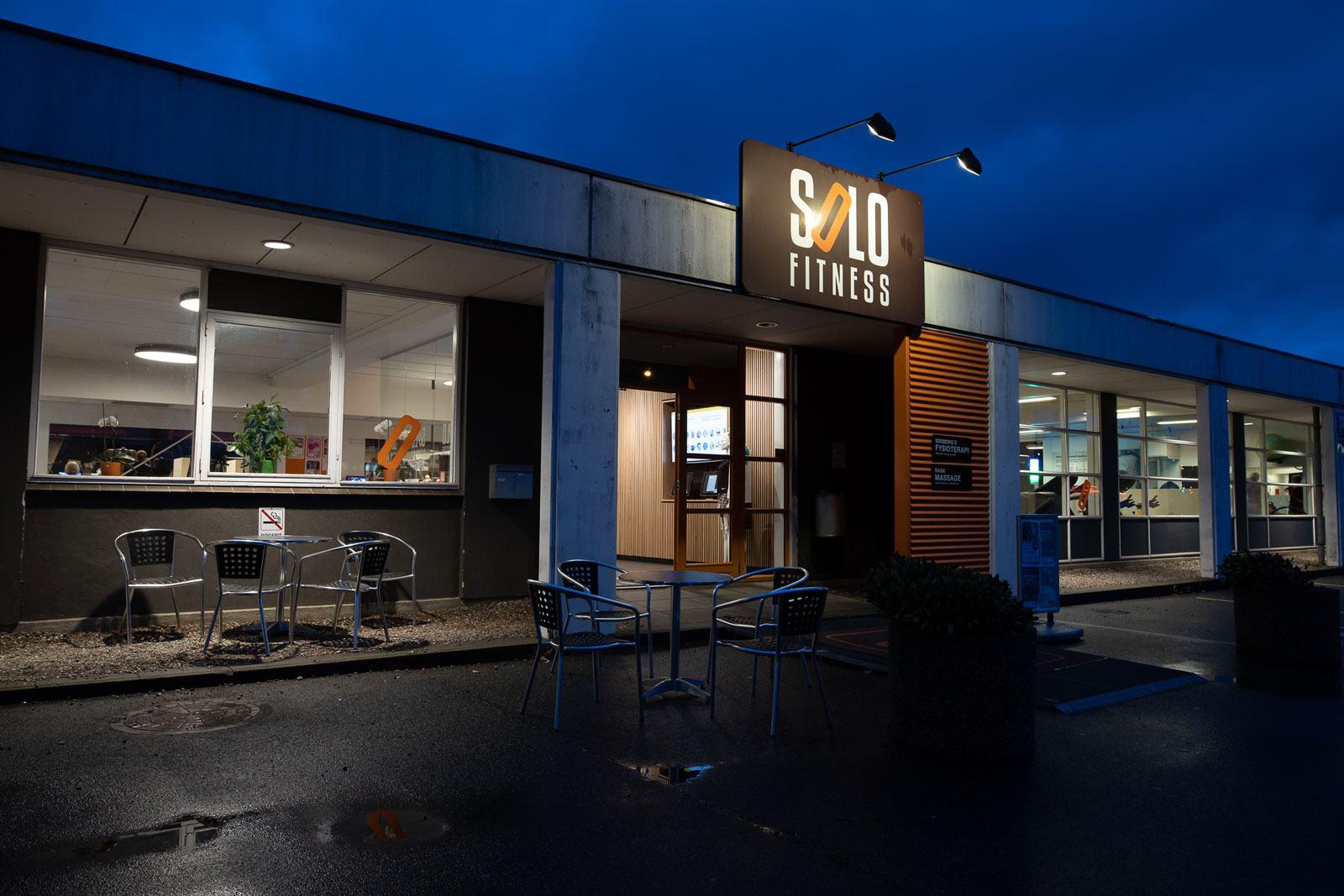 Caféen i Solo Fitness